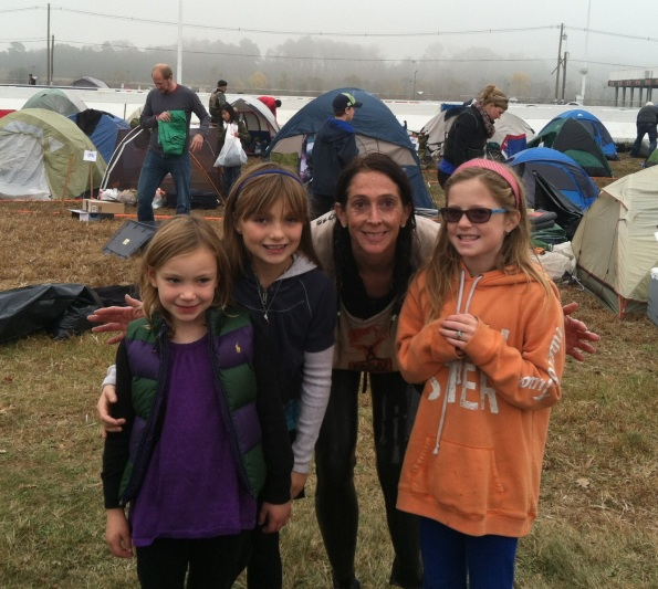 Amy Palmiero-Winters at World's Toughest Mudder